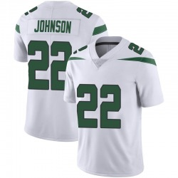 Limited Youth Trumaine Johnson New York Jets Nike Vapor Jersey - Spotlight White