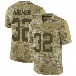 Limited Youth Valentine Holmes New York Jets Nike 2018 Salute to Service Jersey - Camo
