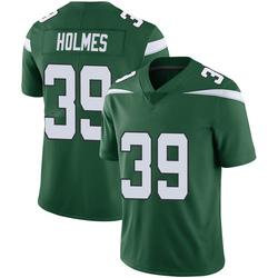 Limited Youth Valentine Holmes New York Jets Nike Vapor Jersey - Gotham Green