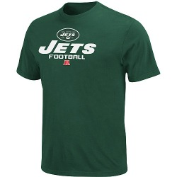Men's New York Jets Big & Tall Critical Victory T-Shirt - - Green