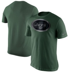 Men's New York Jets Nike Champion Drive Reflective T-Shirt - Green