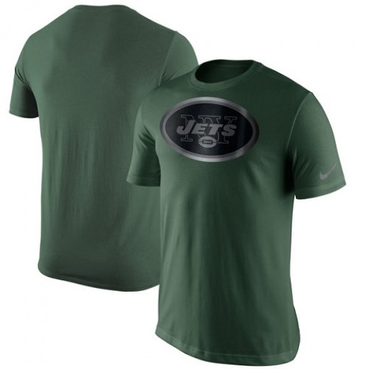 Men s New York Jets Nike Champion Drive Reflective T-Shirt - Green 45c902f6d9b