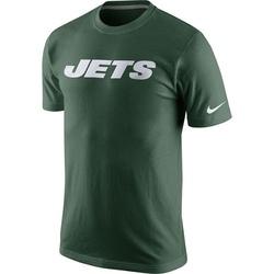 Men's New York Jets Nike Fast Wordmark T-Shirt - - Green