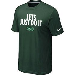 "Men's New York Jets Nike Just Do It"" T-Shirt - Dark "" - Green"